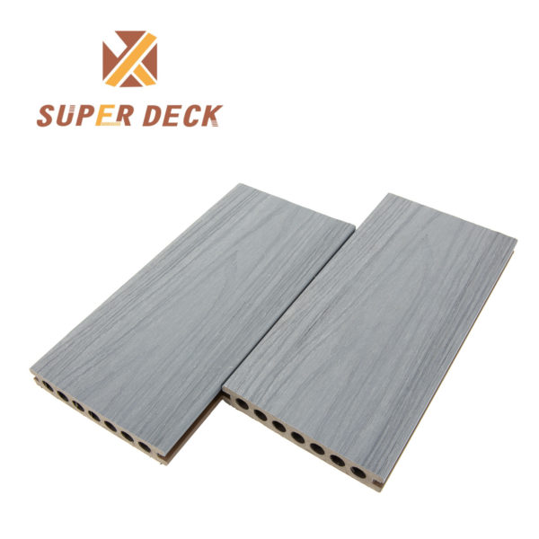 grey composite decking boards angle